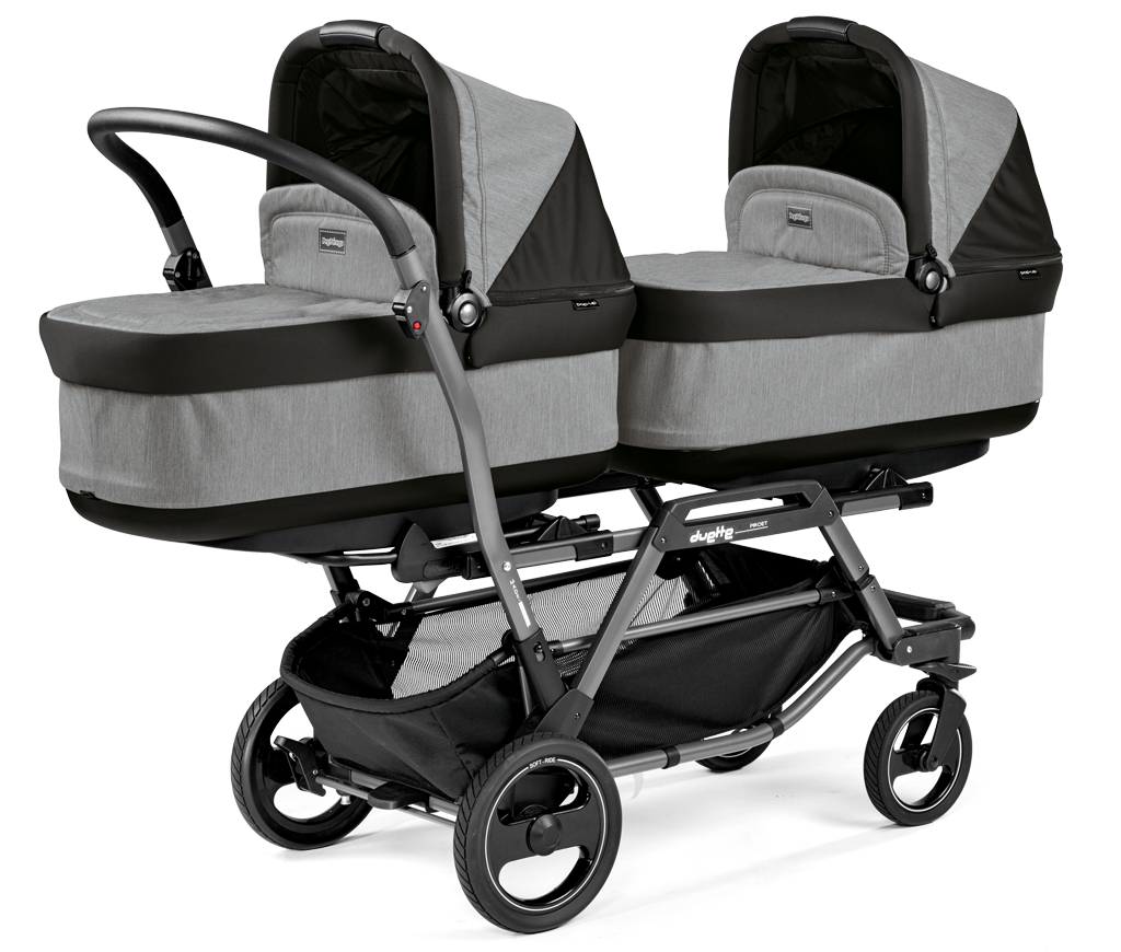количка за близнаци Duette Pirot